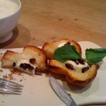 Brioche with Goat Cheese and Mission Figs