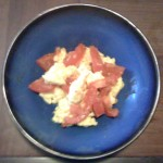 Chinese Scrambled Eggs and Tomato