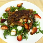 Sauteed Soft Shell Crab Salad