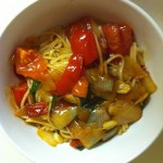 Spicy Basil Noodles
