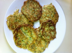 Easy Zucchini Pancakes for Lunch