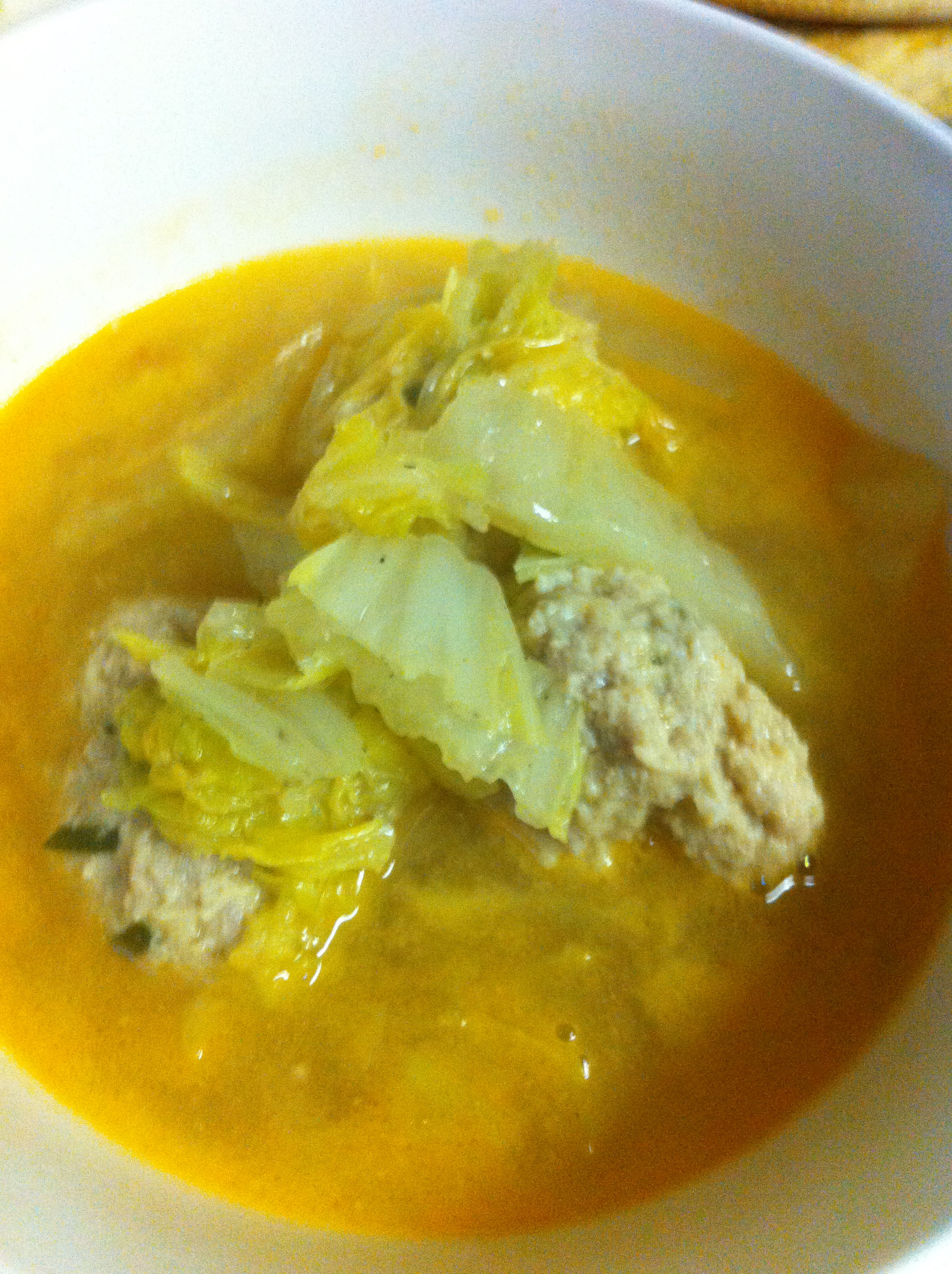 pork meatball soup 3