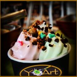 YoArt Frozen Yogurt at The Plaza Food Hall