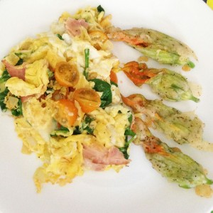 Easy Squash Blossoms Recipe