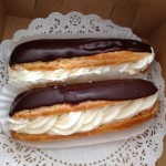 I Die For: Chantilly Cream Filled Eclairs