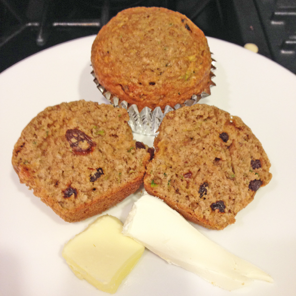 Yummy zucchini muffin recipe
