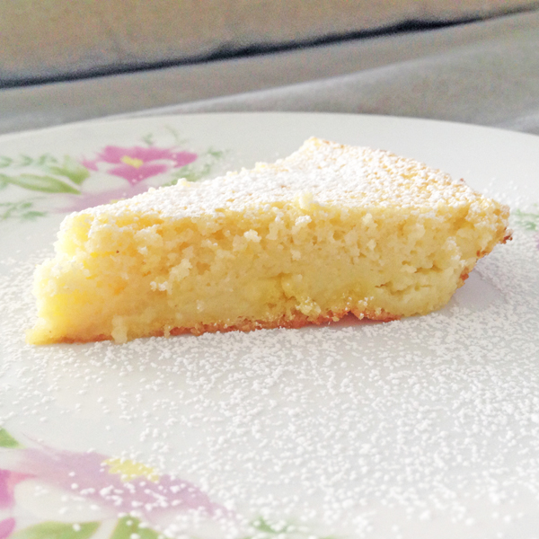 Buttermilk magic cake