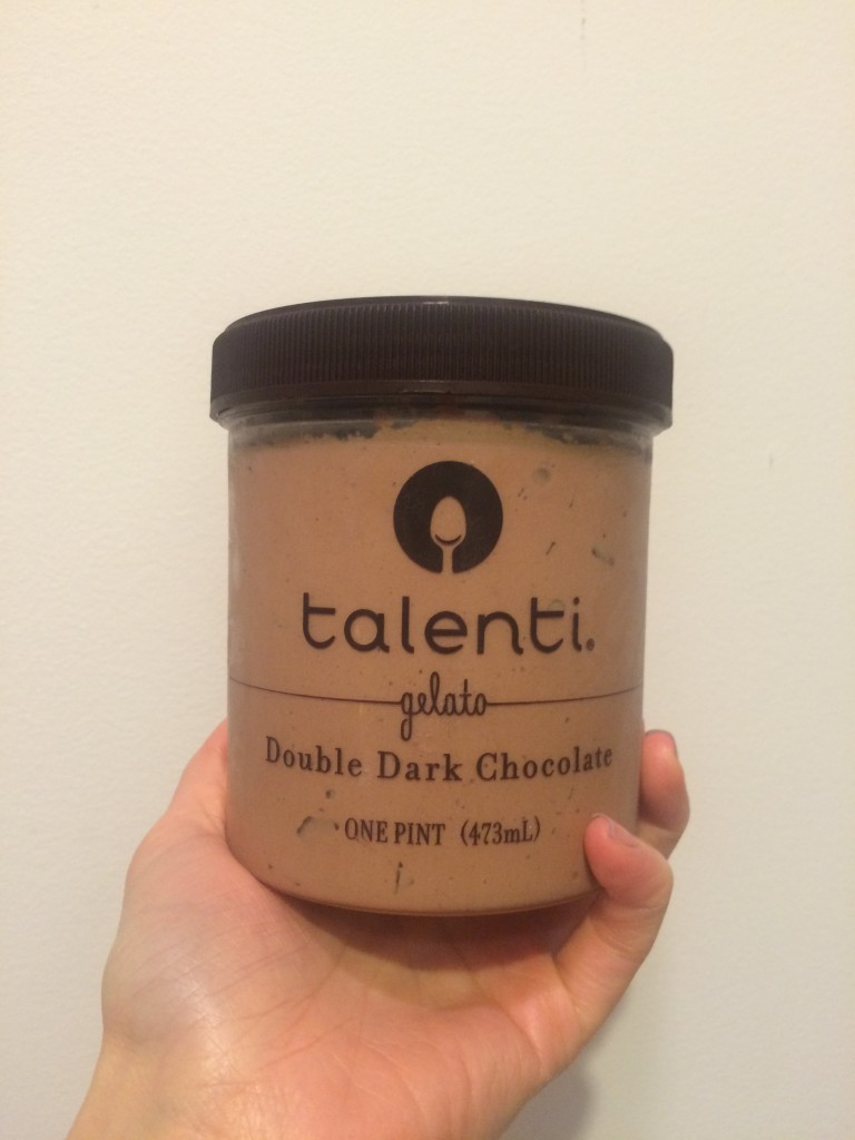Talenti double dark chocolate