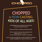 Food Network's CHOPPED is Casting Children & Teens