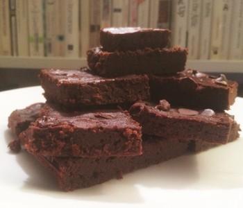 black bean brownies 350