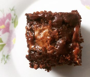 Brownie no recipe 350