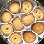 Butter Cookies In A Tin